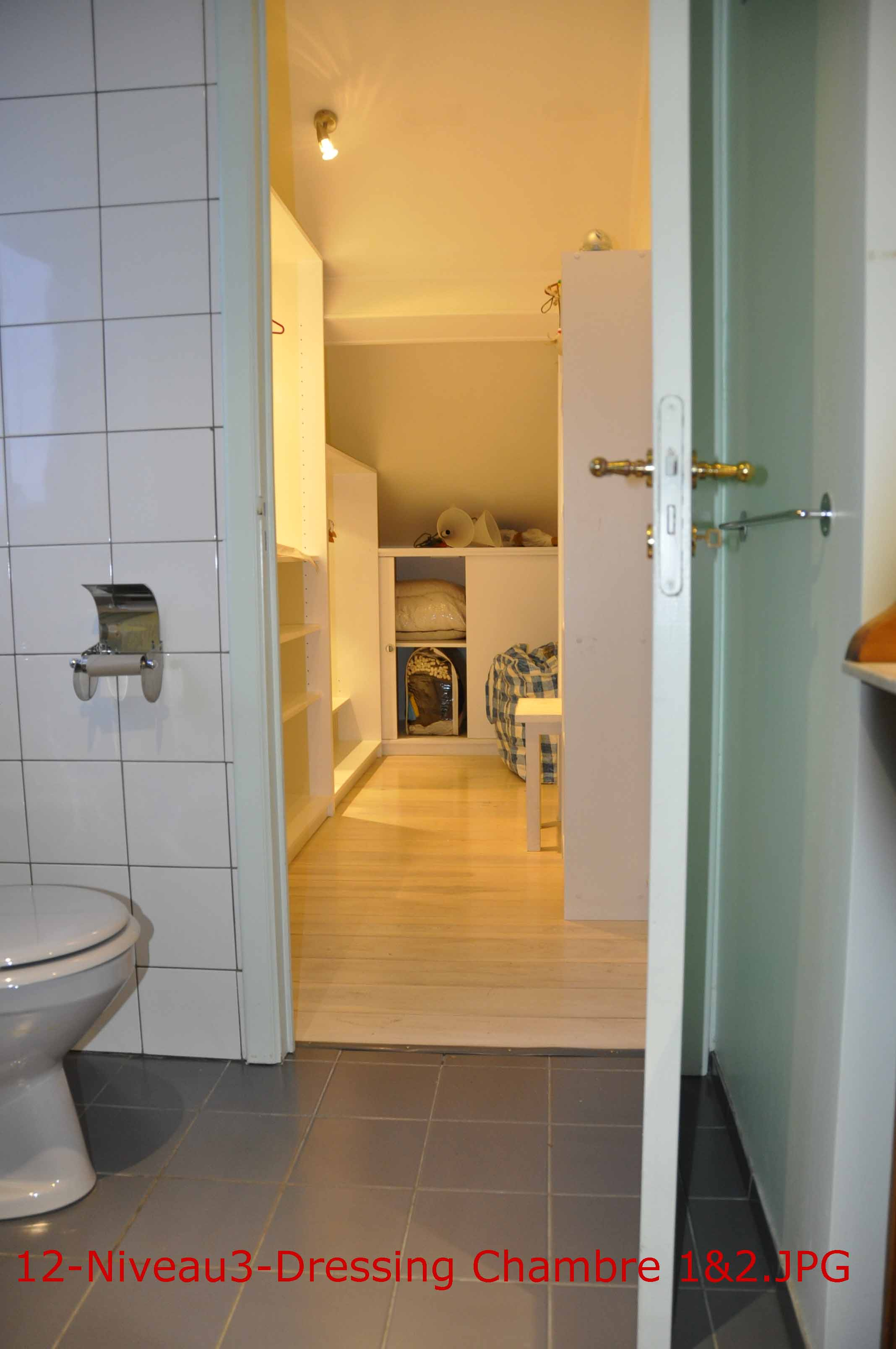 Uccle / forest   appartement en triplex dans une maison de charme ...