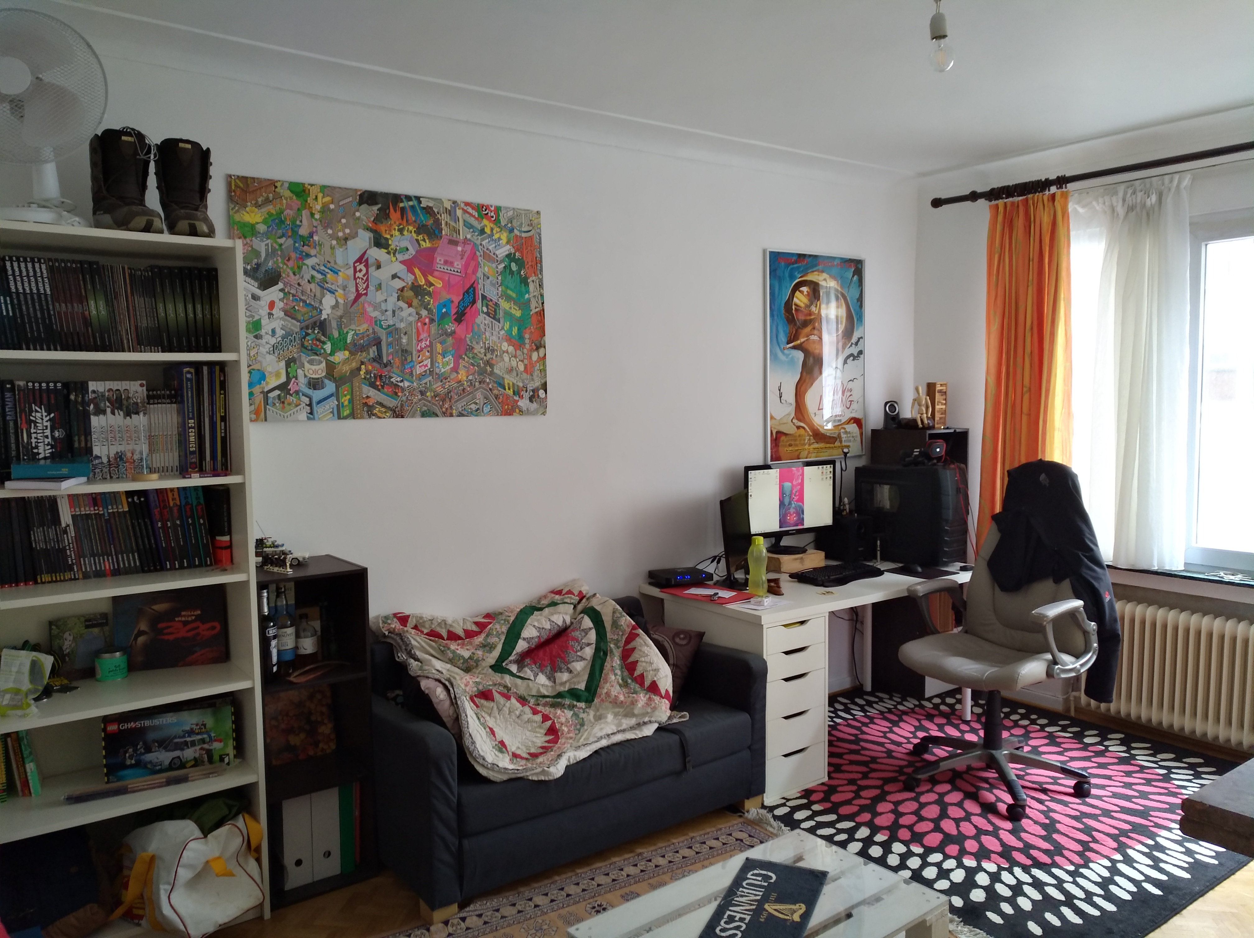 Appartement une chambre louer 1040 etterbeek immo for Chambre a louer particulier