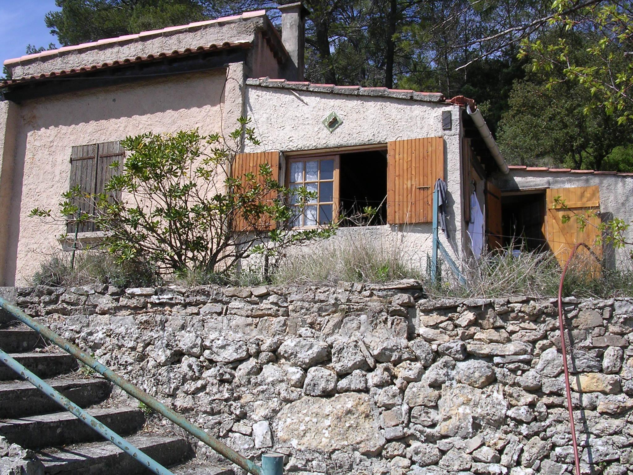 Maison sur grand terrain nature 35 min d 39 aix en provence for Immo particulier