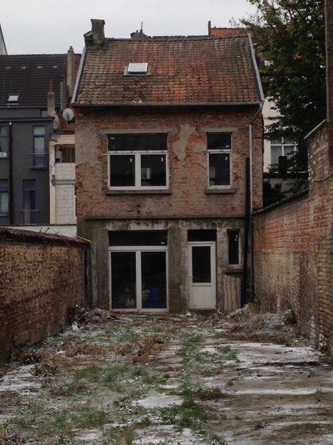 Terrain vendre avec arri re maison 1030 schaerbeek for Immo particulier