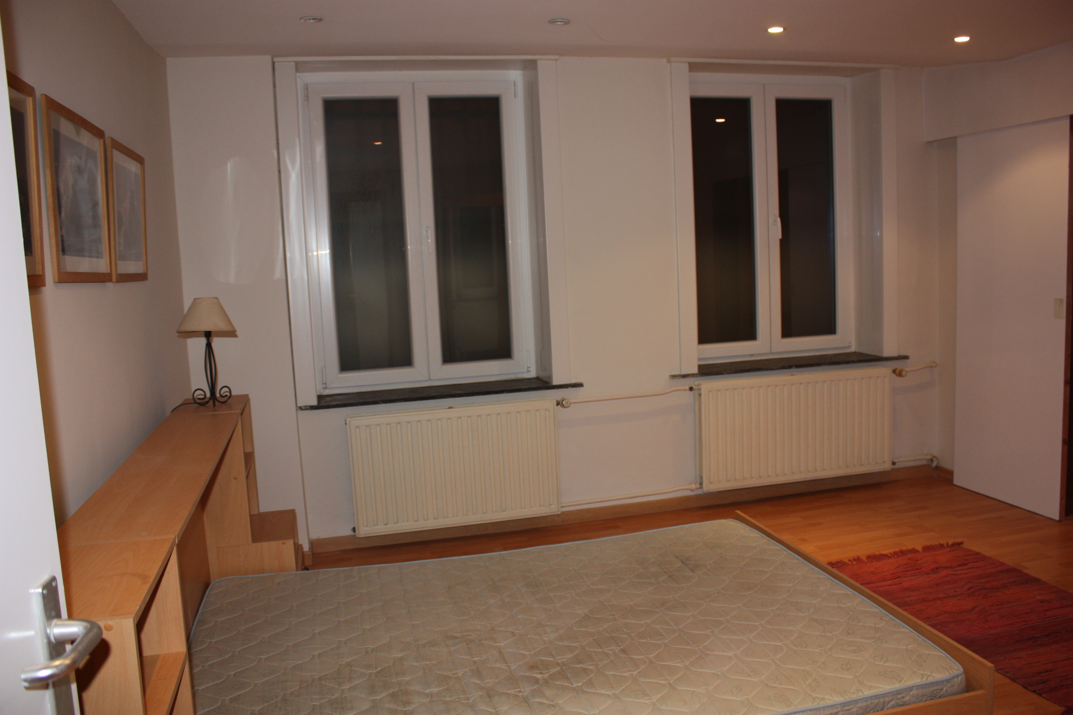 Lumineux duplex 2 chambres louer 1000 bruxelles immo for Chambre a louer particulier